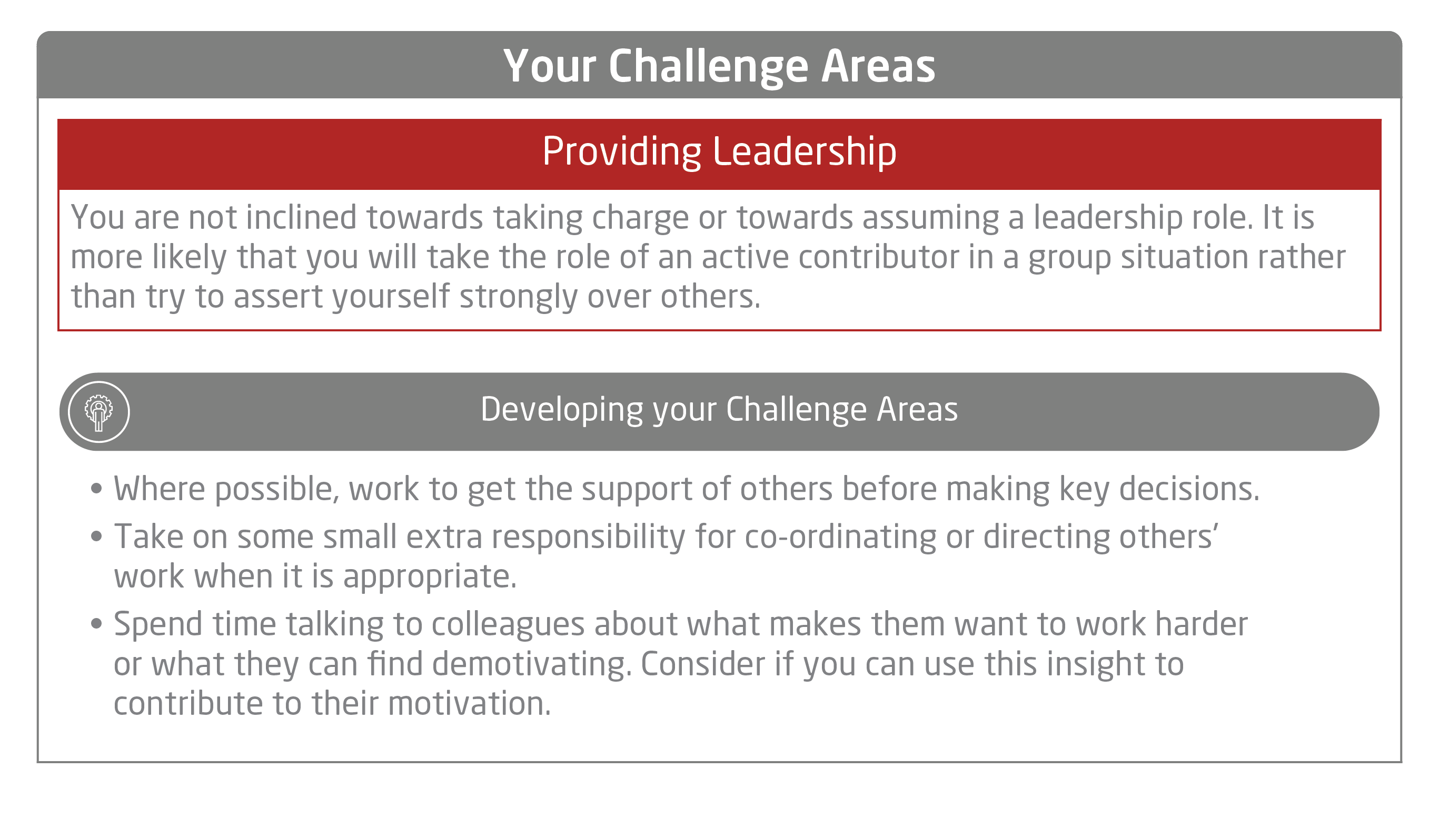 Onboarding Challenge Areas